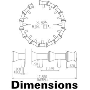 41479 — 1/4″ Трубки для круговых систем охлаждения